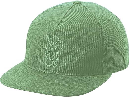 ce1c9e4d Amazon.com: RVCA Men's Stress Free Strapback Hat, Green Haze EA ...
