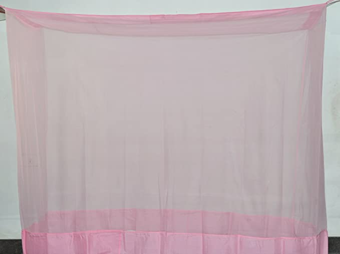 Fashion Centre Polyster Mosquito net 3*6.5ft, Pink