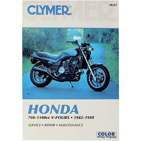 amazon com 82 88 honda vf750c clymer service manual misc home rh amazon com Honda Magna Parts Honda Magna Custom