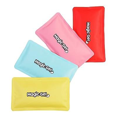 2 x Packs de Gel Premium Chauf ou Froid (réutilisable) avec un système d'attache et un sac de transport par Magic Gel