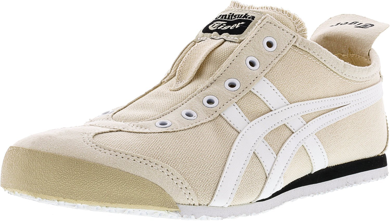 Onitsuka Tiger Mexico 66 Slip-On Classic Running Sneaker B01K39PX9A 9.5 M US Women / 8 M US Men|Birch/White