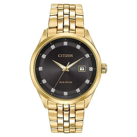 Citizen Reloj de Hombre Eco-Drive 41mm Correa y Caja de Acero BM7252-51G: Amazon.es: Relojes