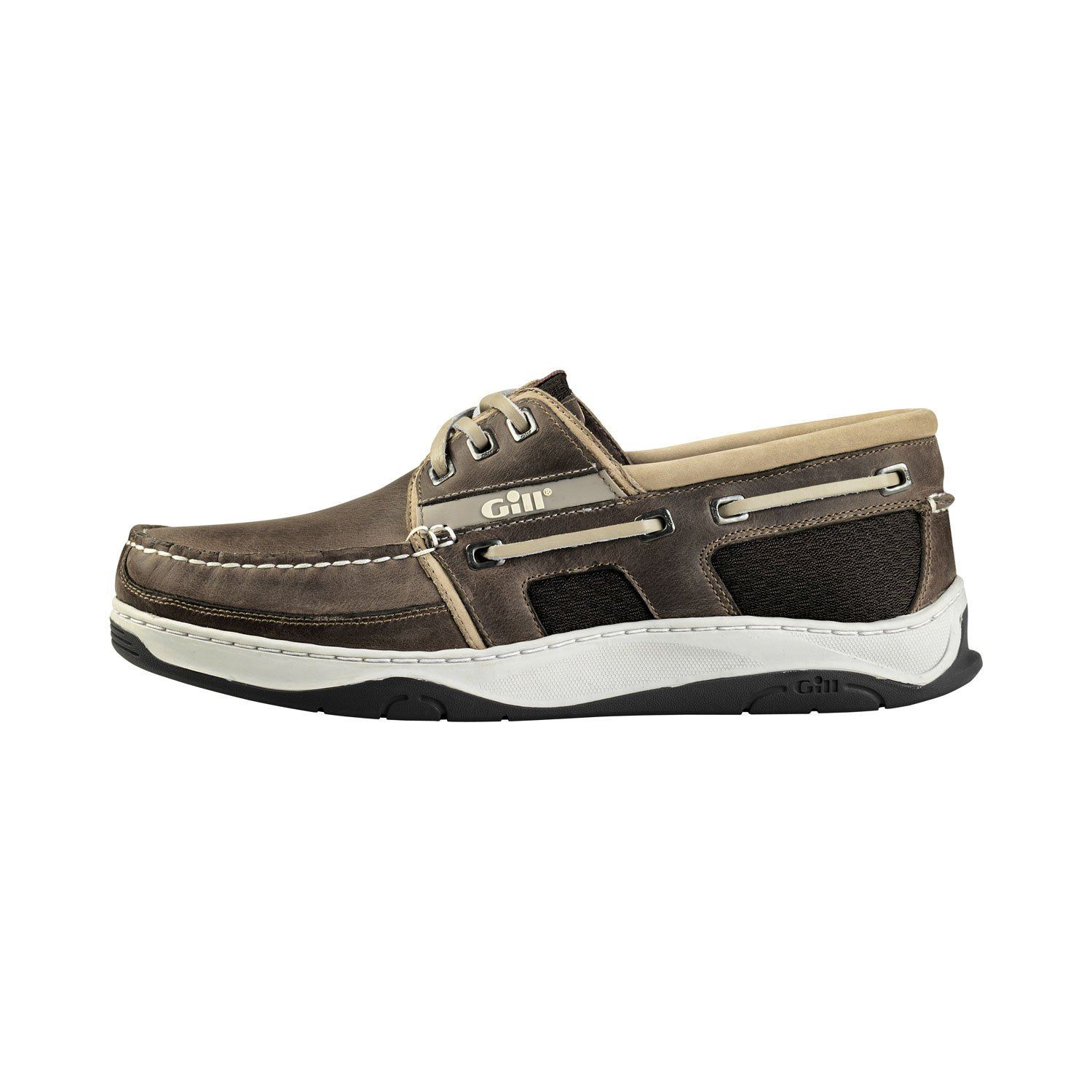 Gill Newport 3 Eye Deck Shoe (43, Grey)