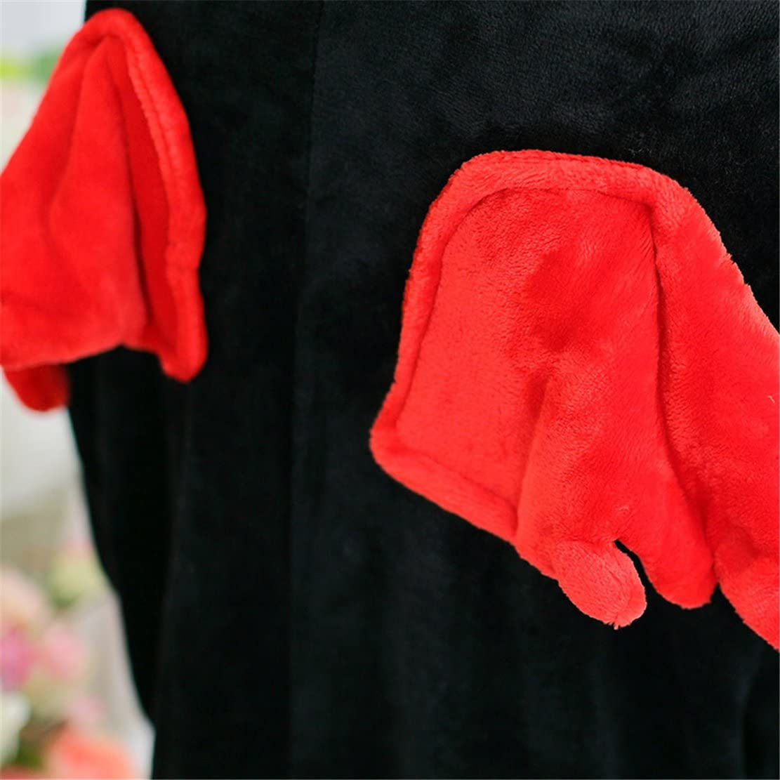 BELLYANNA Unisex Adult Pajamas Plush One Piece Cosplay Animal Costume