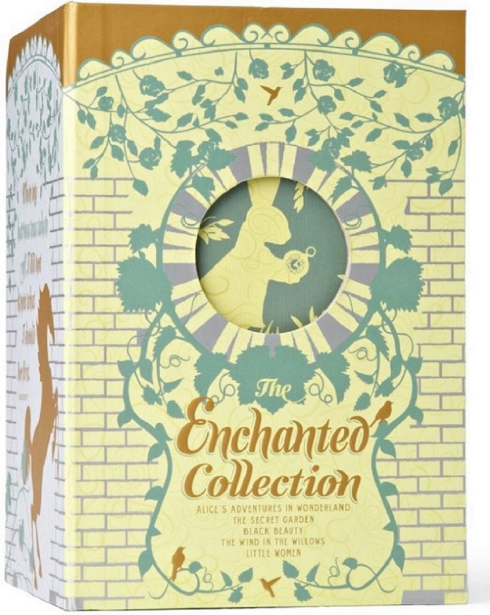 The Enchanted Collection: Alice's Adventures in Wonderland, The Secret Garden, Black Beauty, The Wind in the Willows, Little Women (The Heirloom Collection) by Two Lions