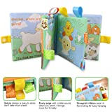 Fabric Baby Cloth Books KINBON Activity Crinkle