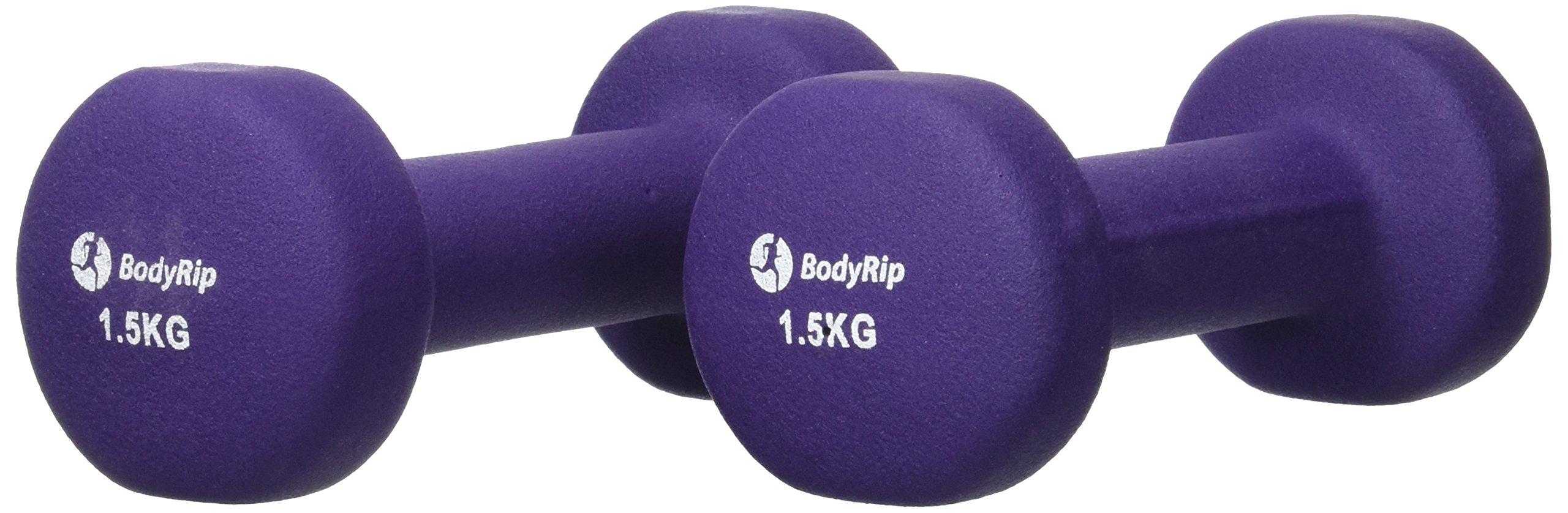 BodyRip - Mancuernas (Neopreno, 2 x 1,5 kg) product image