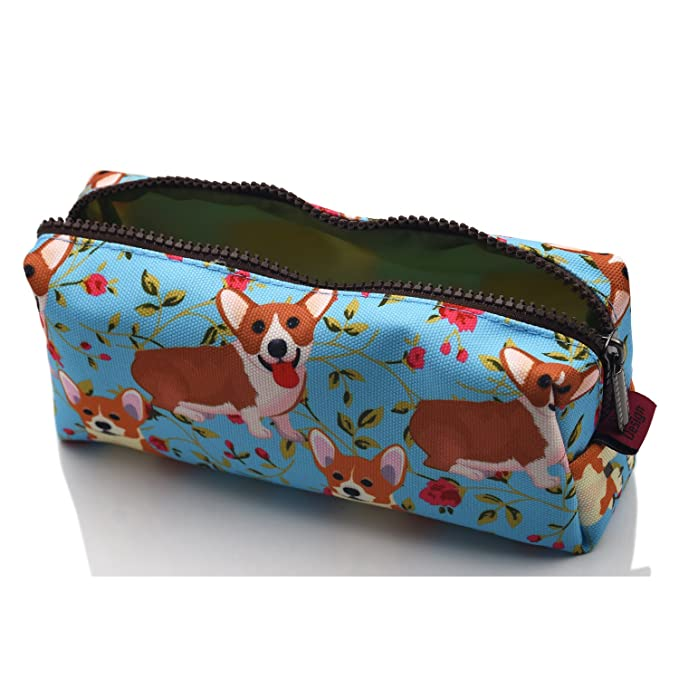 Amazon.com: lparkin Corgi estudiantes bolsa de estuche de ...