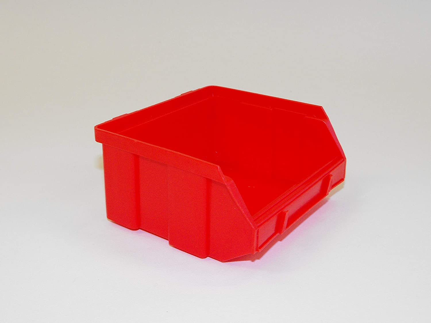 1 Harbor Freight Wall Mount Hanging Storage Bin Replacement Red Small Bin Plastic