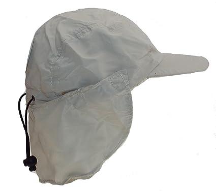 1 Gorra para hombres con tapa removible para el cuello - talla 57 o 59 - tapeta - 100% poliéster, microfibra: Amazon.es: Ropa y accesorios