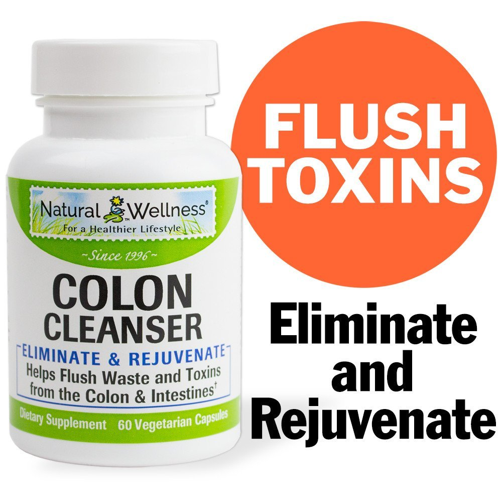 Amazon Natural Wellness Colon Cleanser 60 Capsules Health