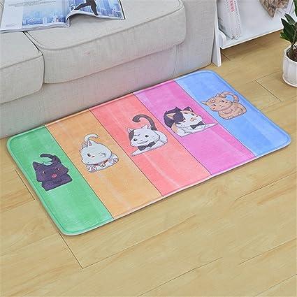 Amazon.com: Hot Sale Kawaii Welcome Floor Mats Animal Printed ...