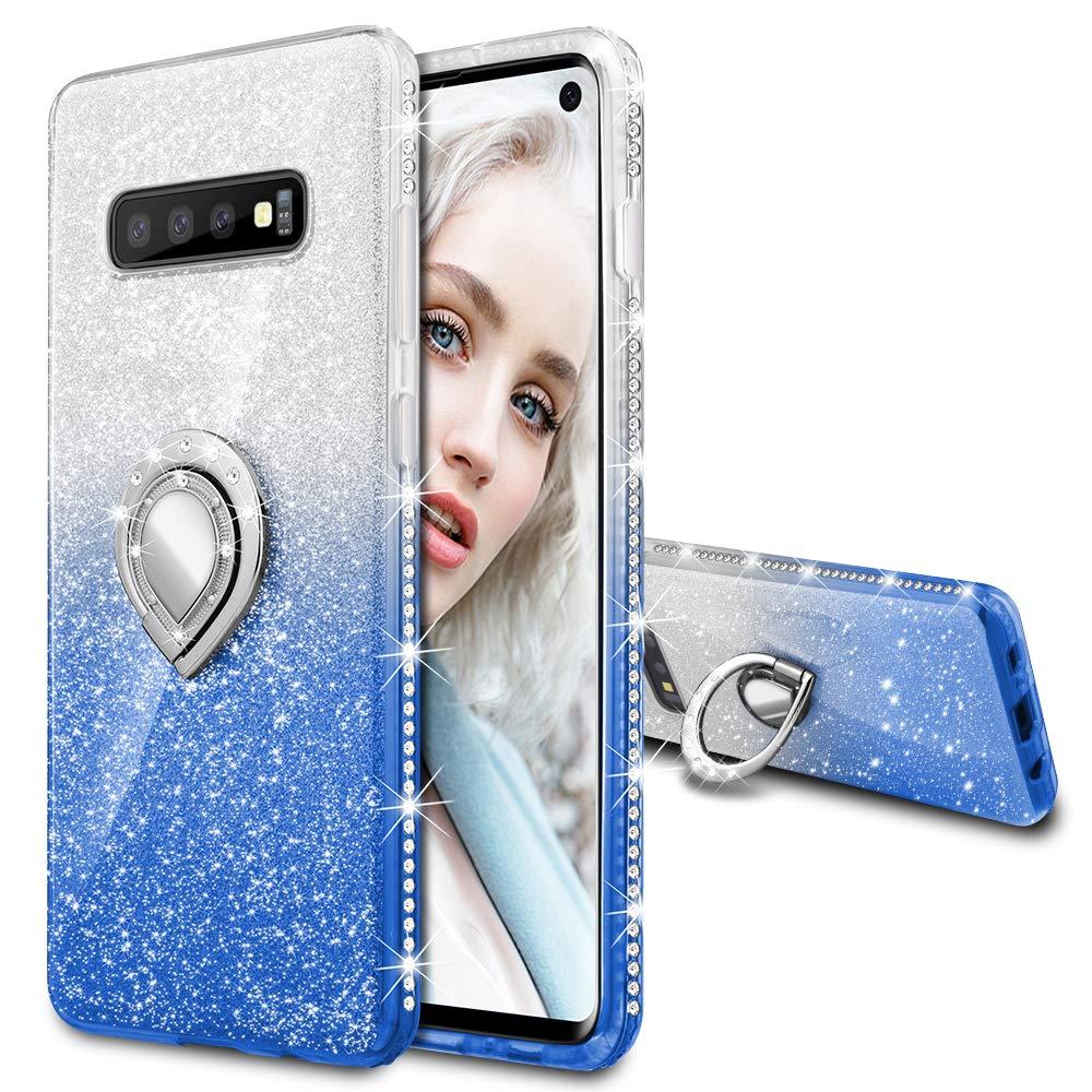 Funda para Samsung S10 Glitter con pie MAXDARA (7QJX99BX)
