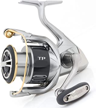 SHIMANO Carretes de Pesca Twin Power 4000 Power Gear Spinning ...