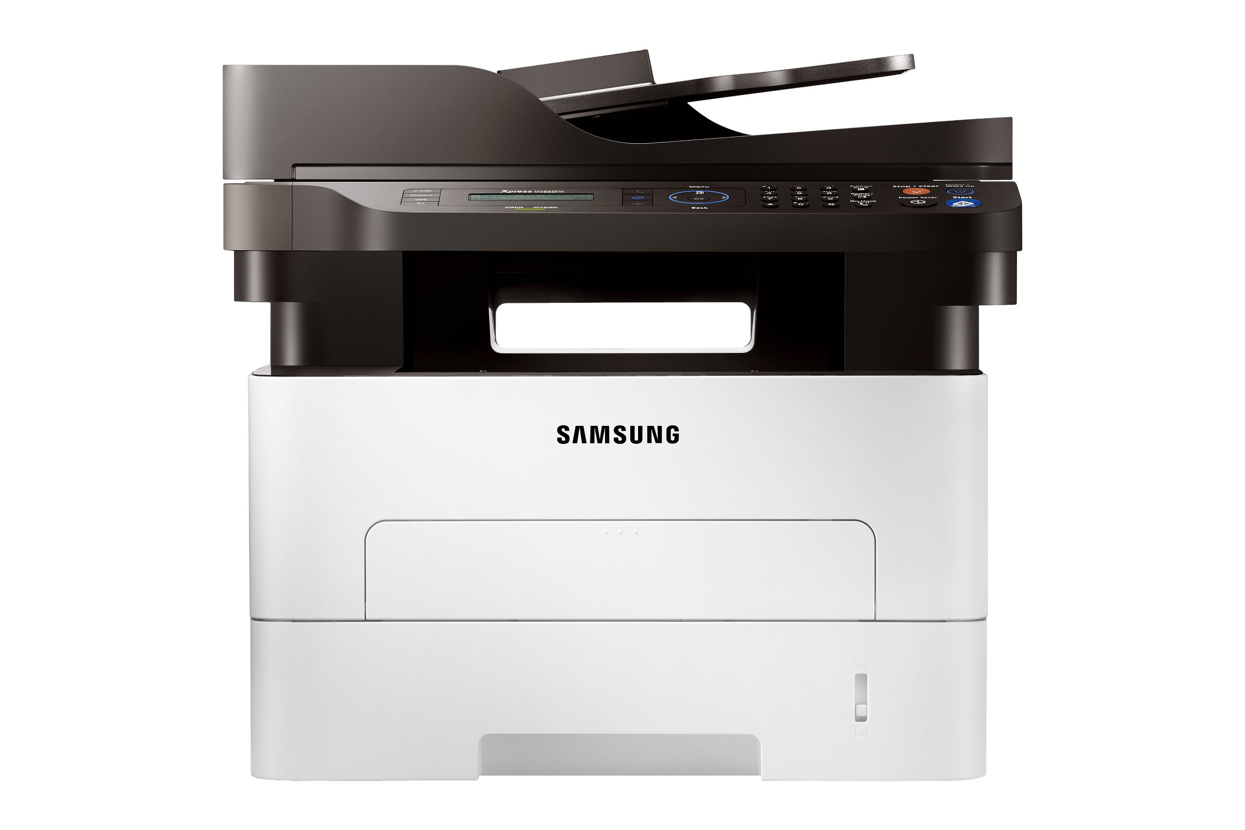 Samsung SL-M2885FW/XAA Wireless Monochrome Printer with Scanner, Copier and Fax, Amazon Dash Replenishment Enabled