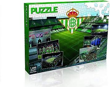 ELEVEN FORCE Puzzle Real Betis 1000 Piezas (11886), Multicolor: Amazon.es: Juguetes y juegos