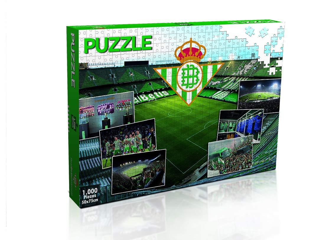 Eleven Force Puzzle Real Betis 1000 Piezas (11886), Multicolor (1 ...
