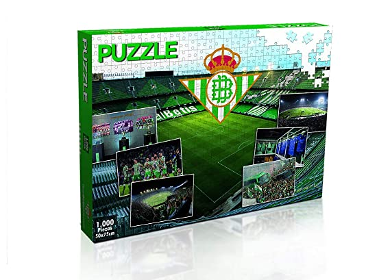 Eleven Force Puzzle Real Betis 1000 Piezas (11886), Multicolor (1 ...