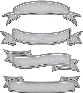 Spellbinders Shapeabilities Dies, Ribbon Banners