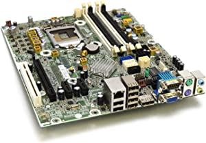 HP 615114-001 Genuine OEM Hewlett-Packard Compaq 6200 Pro Small Form Factor SFF/Micro Tower Motherboard Main System Logic Board Integrated Intel Chipset 611794-000 CPU Process Socket LGA 1155/H2