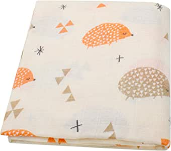 manta para gatear 105 x 75 cm bonita manta gris manta para ni/ños Manta de punto para beb/é manta para cochecito al aire libre