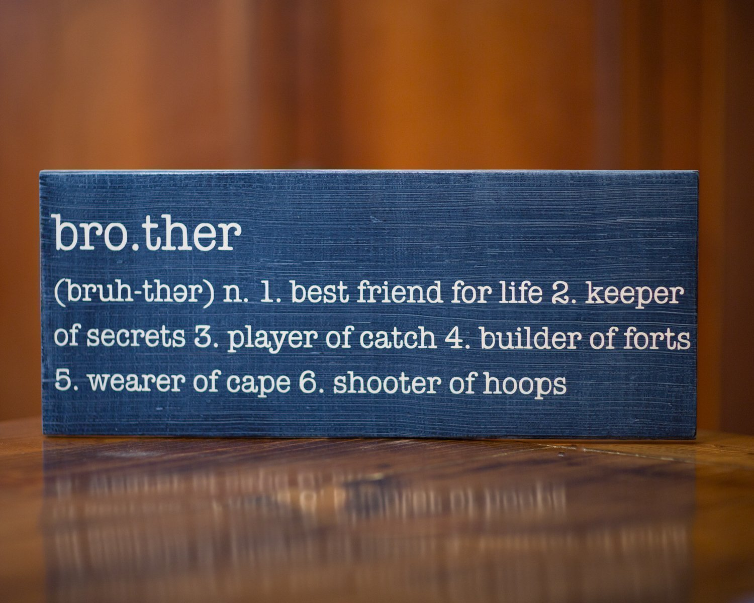 Amazon.com: Brother Definition Wall Sign | Big, Little, or Baby ...