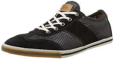Clarks Mego Walk, Chaussures de ville Leather homme Noir Noir Leather ville 8d51bc