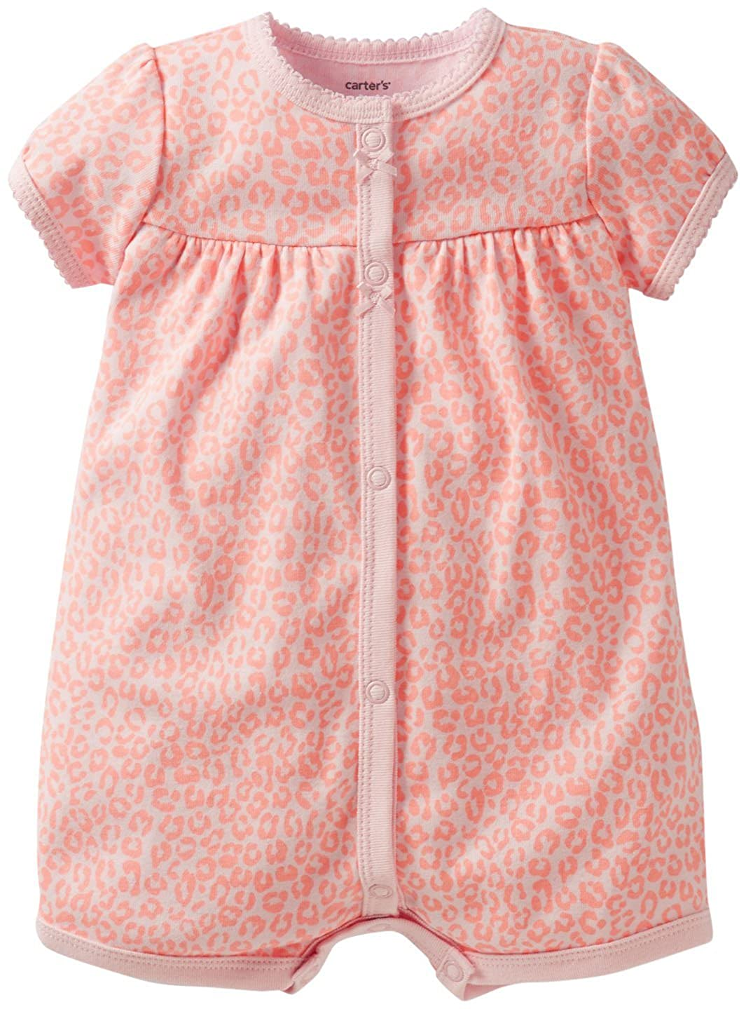 93719201a10a Amazon.com  Carter s Baby Girls  Striped Creeper (Baby)  Clothing