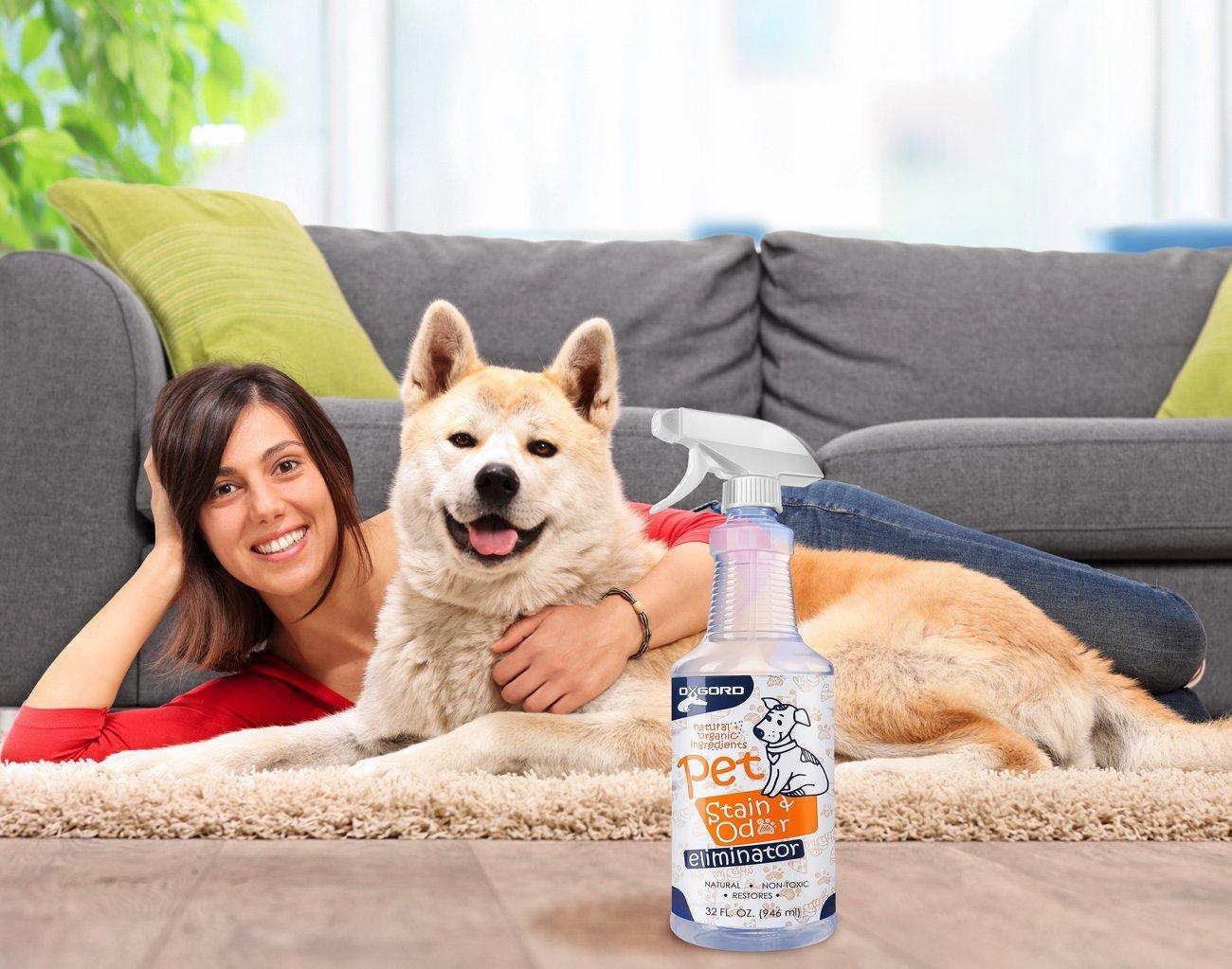 OxGord Pet Stain Odor Remover.