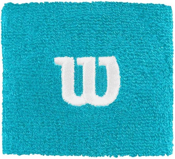 Wilson Muñequera de tenis, Felpa francesa, Talla única, Celeste (Scuba Blue), WR5602017: Amazon.es: Deportes y aire libre