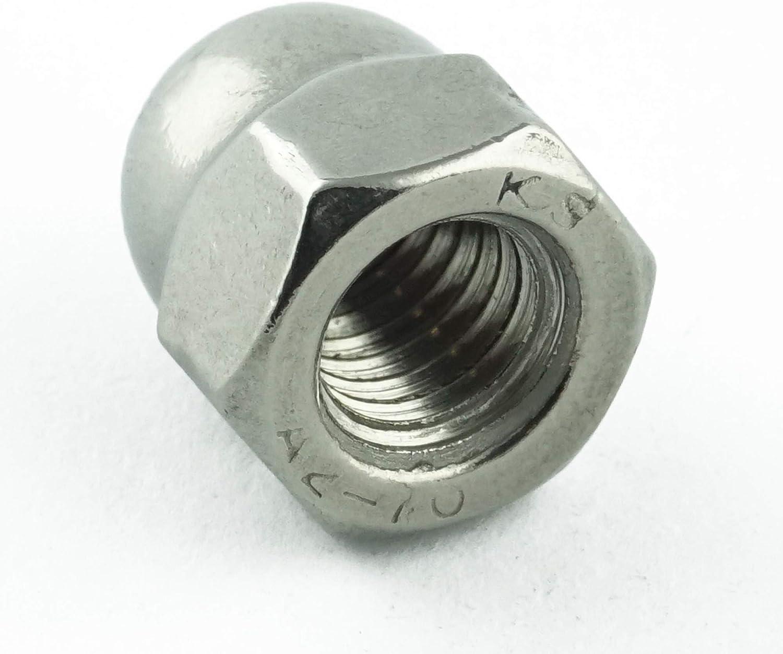 - DIN 1587 M14 Sechskant-Hutmuttern hohe Form Edelstahl A2 V2A 2 St/ück rostfrei Eisenwaren2000