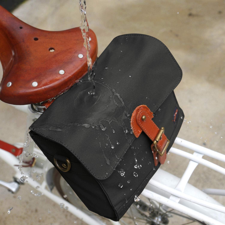 Bolsa de Lona para Manillar de Bicicleta TOURBON