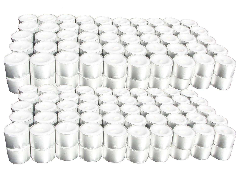 HLine H-LINE Teelichter 8 Stunden Brenndauer 200er 400er 600er 800er 1000er Pack Gastronomie Kerzen Teelicht (600)