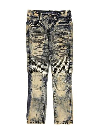 808d47758 Amazon.com: GS-115 Big Boys' Paneled Vintage Jeans: Clothing