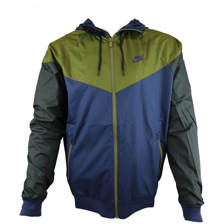 Nike Windrunner Full Zip Jacket Volt Grey Black 727324-060 Men/'s M-XXL