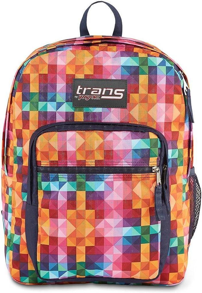 Trans by Jansport Supermax Multi Spectrum Multi Color Backpack