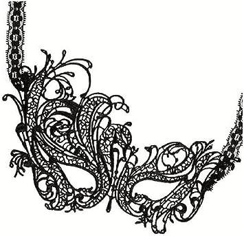 Demarkt Máscara de Lobo Veneciana de Encaje Cesar Soiree diseño de máscara de vampiresa para Halloween Parte de Mesa con Pelota: Amazon.es: Juguetes y juegos