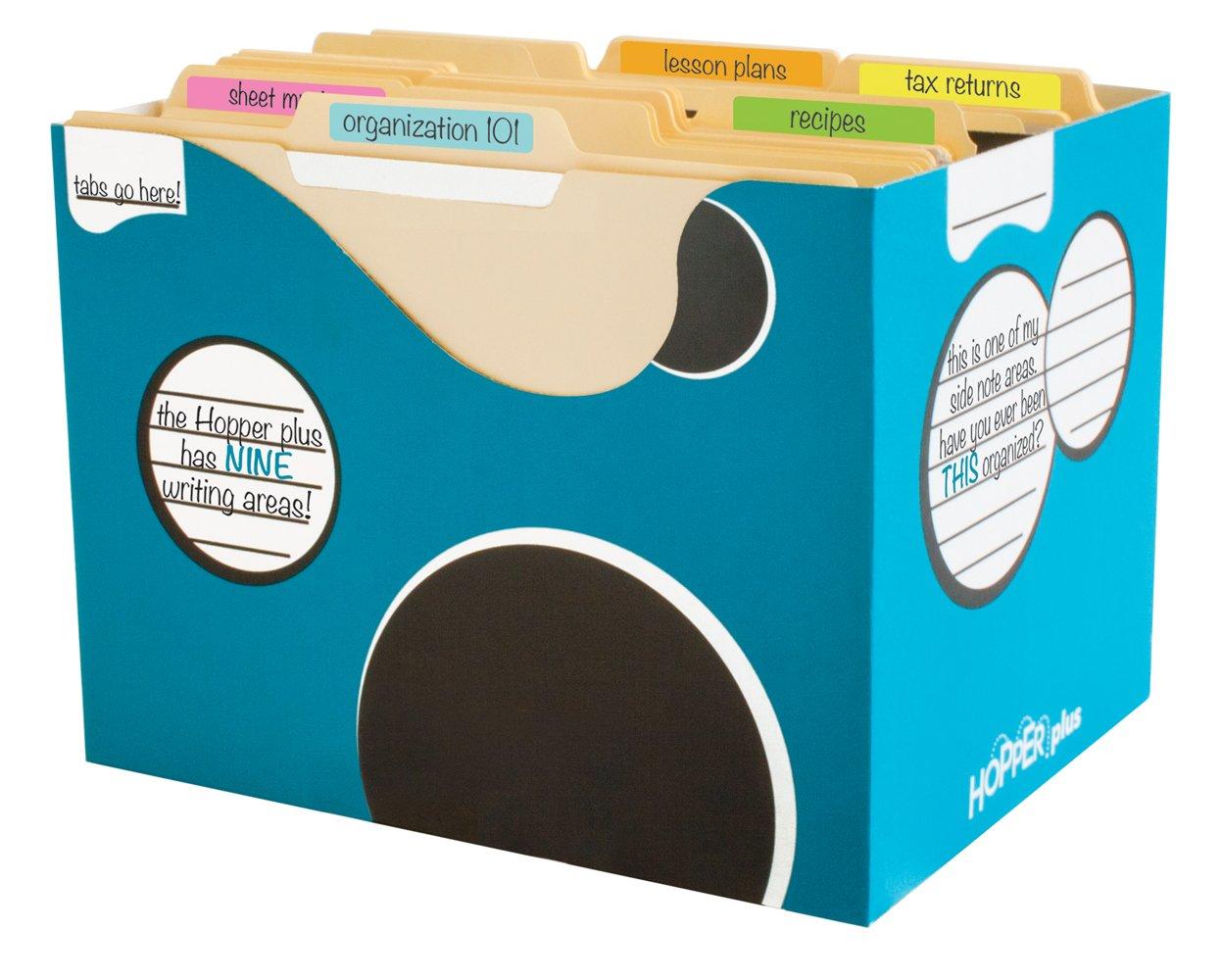Boxa HOPPER PLUS Bigger School Supply Organizer Bin, 21 per Pack (4-HP08-0-BB-03)