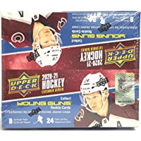 2020/21 Upper Deck Extended Series Retail Box - 24 Packs of 8 Cards - 6 Young Guns Each Box photo