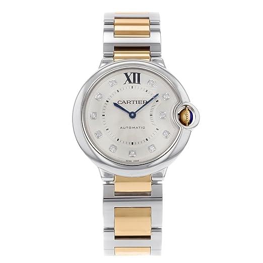 Cartier Ballon Bleu Automatic-Self-Wind - Reloj WE902031 (Certificado) de Segunda Mano: Cartier: Amazon.es: Relojes