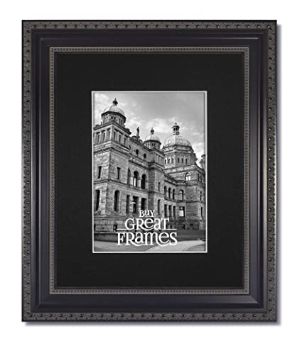 Amazon.com - One 11x14 Ornate Heritage Black Picture Frames and ...