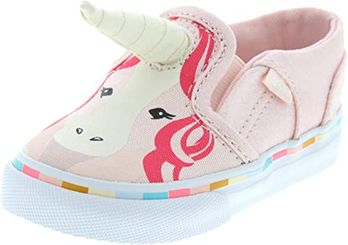 Vans Kids Asher Unicorn Rosa Vans Low Top Sneaker, Vans