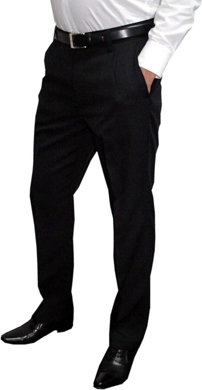 Straight Mens Fashion Uomo Pantaloni da abito
