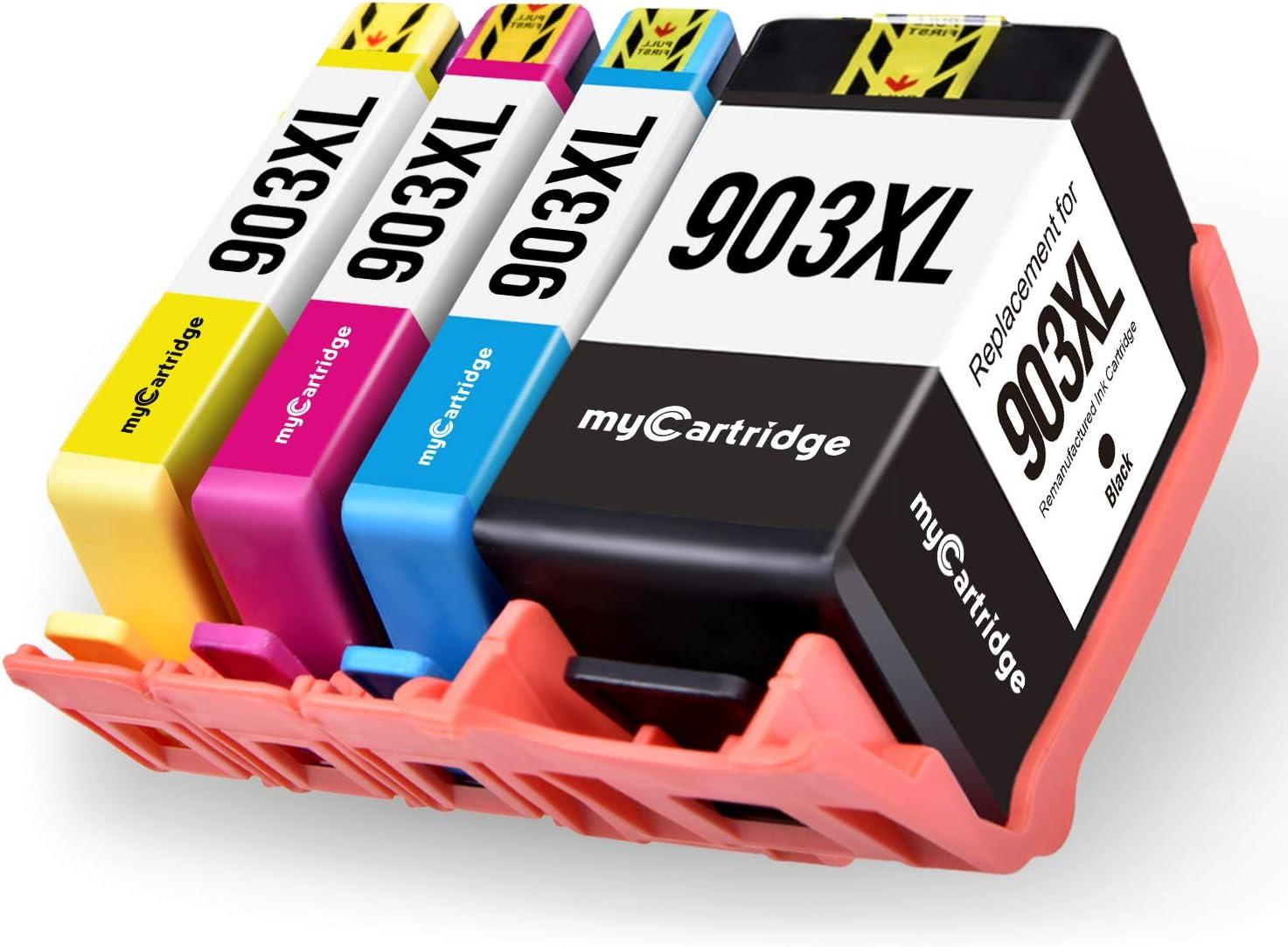 MyCartridge 4 Pack Cartuchos de Tinta compatibles HP 903L 903XL ...