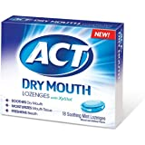 ACT Dry Mouth Soothing Mint Lozenges 18 ea