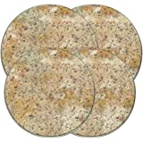 Range Kleen 505 Granite Round Burner Kovers Set of 4