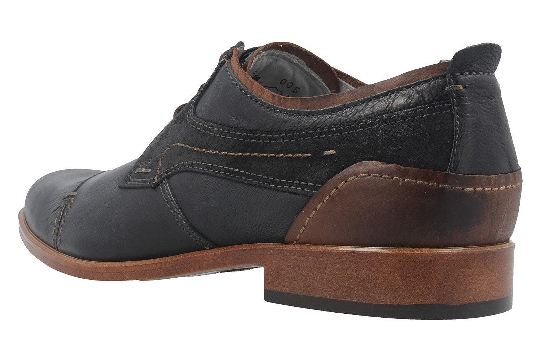 FRETZ FRETZ FRETZ men - Herren Business Schuhe - Oskar - Blau Schuhe in Übergrößen 9558d1