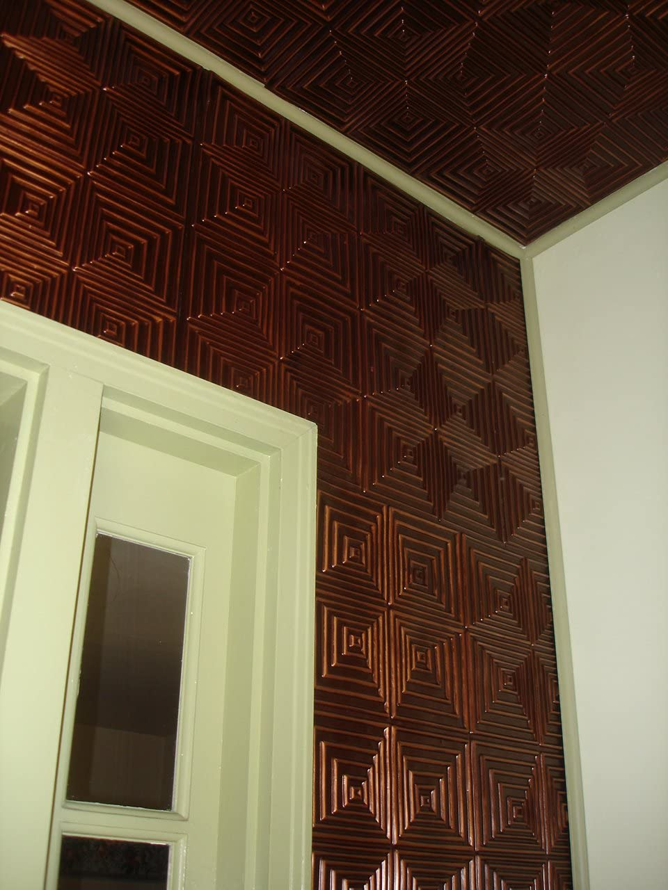 - Amazon.com: Decorative Plastic Backsplash From Ceiling Tiles By Us