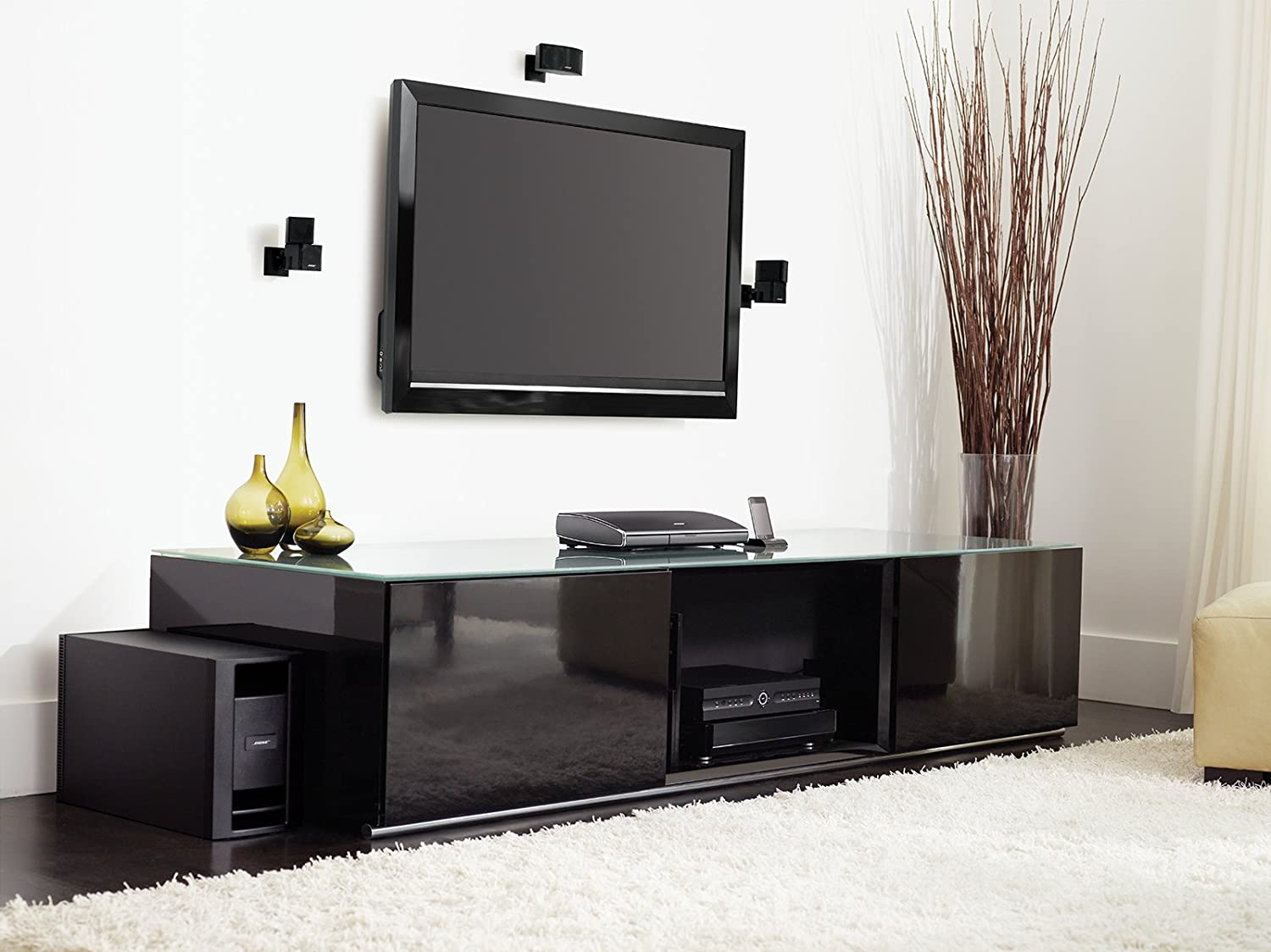 bose home theater setup. bose® lifestyle® v35 home theater system (discontinued by manufacturer): amazon.ca: electronics bose setup v