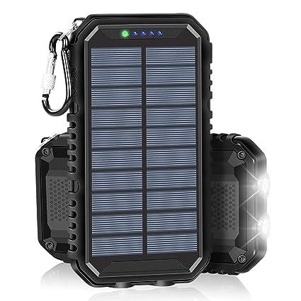Amazon.com: Cargador solar: SOARAISE